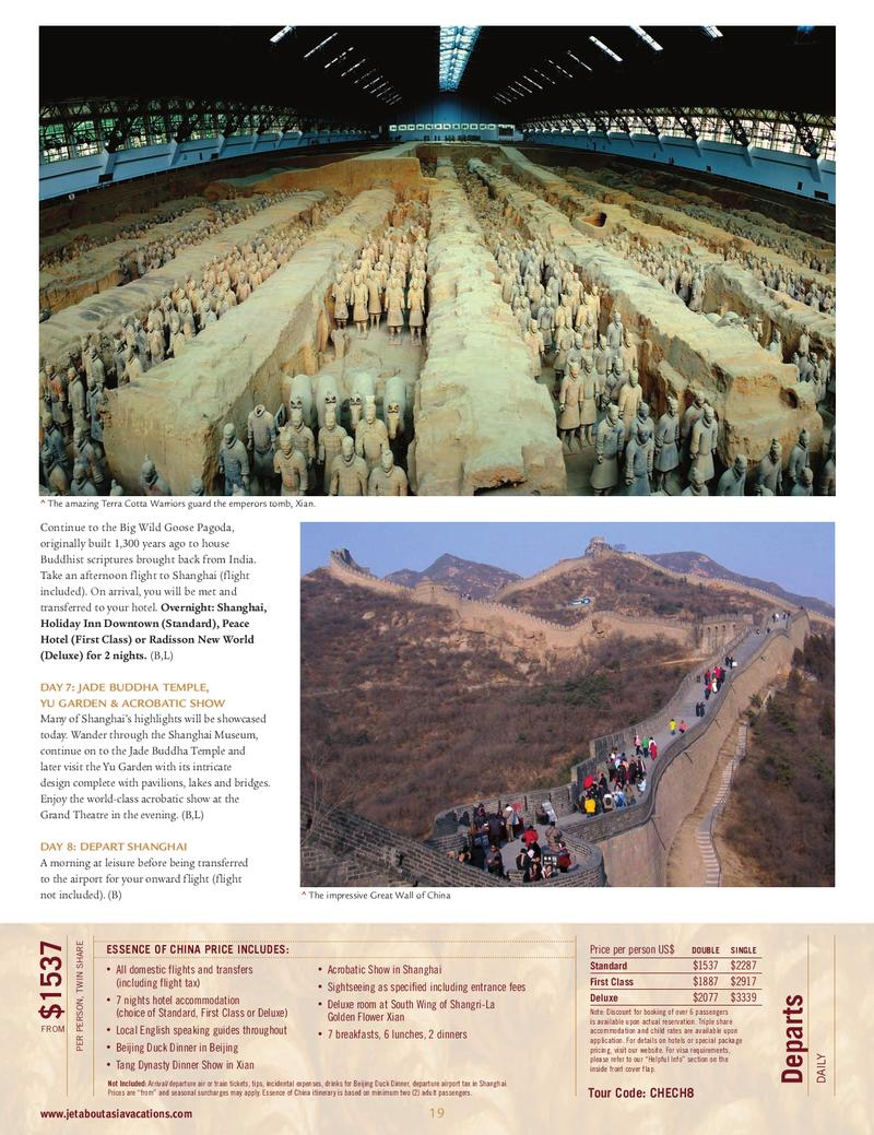 travel brochures front and back
