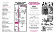 Brochure Amp Trail Map For The Amish Community In Marion By