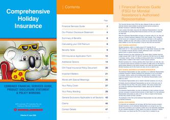 Comprehensive Holiday Insurance