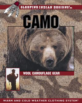 Catalogue: Sleeping Indian Designs Wool Camouflage Gear