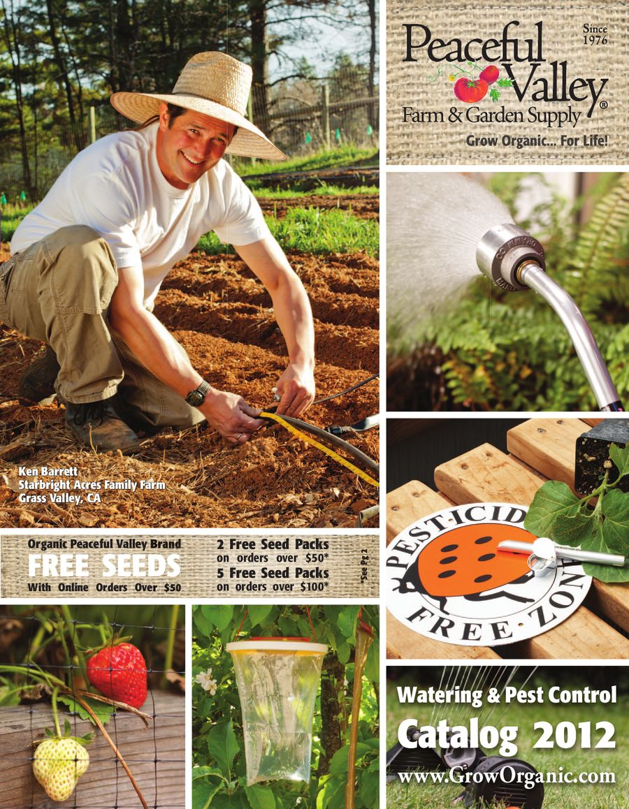 Watering & Pest Control Catalog 2012 by Peaceful Valley Farm Supply ...
