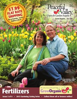 Fertilizer 2013 - Issue 3 of 9 - 2013 Gardening Catalog Series