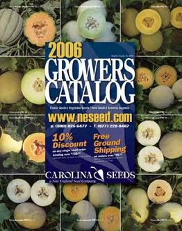 Catalogue: New England Seed Company Growers Catalog