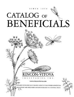 Catalog of Beneficials