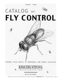 Catalog of Fly Control