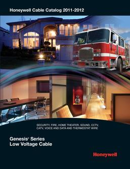 Honeywell Cable Catalog 2011-2012