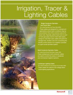 Genesis Irrigation, Tracer & Lighting Cables