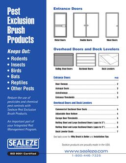Pest Exclusion Brush Products