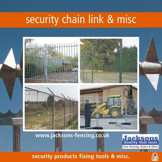 Security chain link & misc 2010