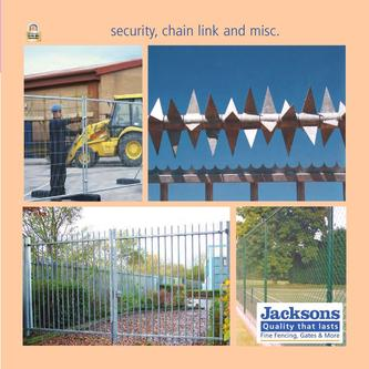 Security chain link & misc 2011