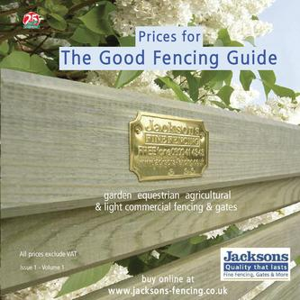 Price Booklet for the Good Fencing Guide 2011