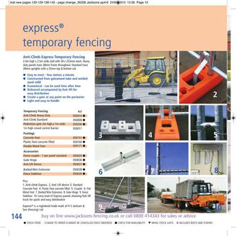 Express Temporary Fencing 2014
