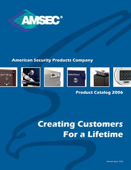 Safes Catalog By American Security Products Co