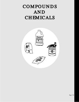 Compounds and Chemicals
