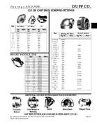 Cast Iron Pipe Fittings Catalog In Duff Company Catalog By