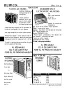 Pricing Pages In Heating By Duff Company