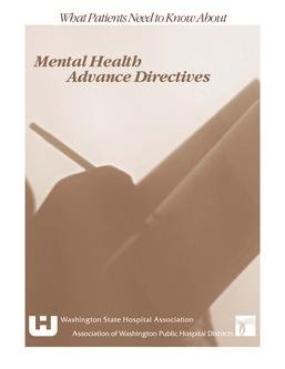 Mental Health Advance Directives