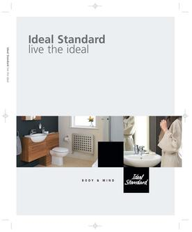 ideal standard uk ltd catalogs. Black Bedroom Furniture Sets. Home Design Ideas