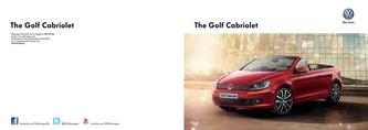 Golf Cabriolet September 2013