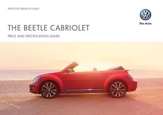 The Beetle Cabriolet price list 2015