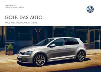 Golf GTE Company car P11D price list 2015