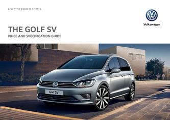 Golf SV Price Guide 12.2016