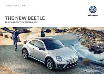 New Beetle Price Guide 12.2016