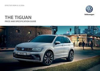 Tiguan Price Guide 12.2016