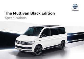 Specifications Multivan Black Edition 2019
