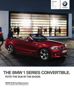 BMW 1 Series Convertible 2012
