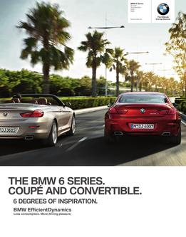 BMW 6 Series Coupé and Convertible 2012
