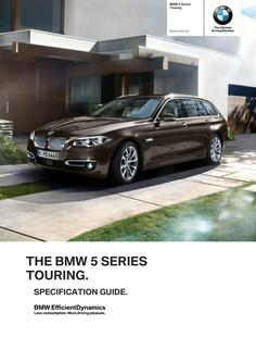 BMW 5 Series Touring Spec Guide 2014