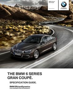 BMW 6 Series Gran Coupe Specs 2014