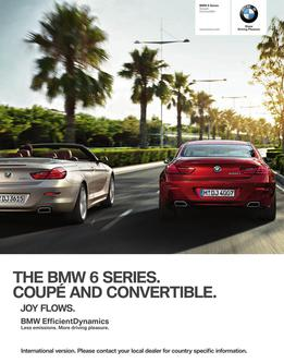 BMW 6 Series Convertible & Coupe 2014