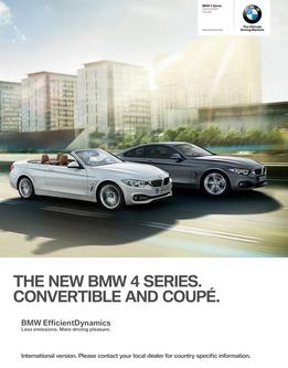 BMW 4 Series Coupe & Convertible 2014