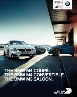BMW M3 Saloon - M4 Convertible - B4 Coupe 2016