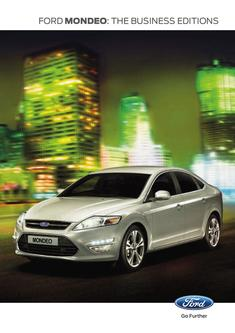 Ford Mondeo Business Editions 2013
