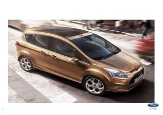 Ford B-Max Pricelist 2014