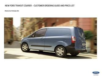 Transit Courier Pricelist 2014