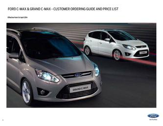C-MAX & Grand C-MAX Pricelist 2014