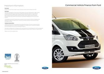 Cormmercial Vehicle Finance 2014