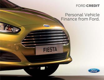 Personal Vehicle Finance 2014