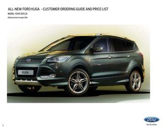 Kuga Prices April 2015