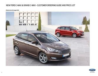 New Grand C-MAX	Prices August 2015
