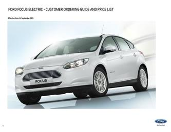New Focus Electric Prices September 2015