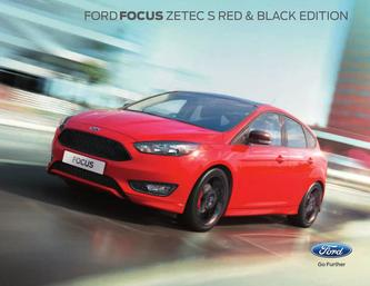 Focus Red and Black Edition 2015