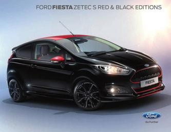 Fiesta Red and Black 2015