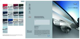 Ford Mondeo Brochure 2007