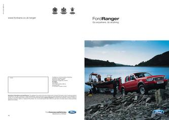 Ford Ranger Brochure 2007