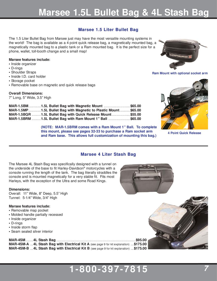 Page 7 of 2009 Motorcycle Accessories